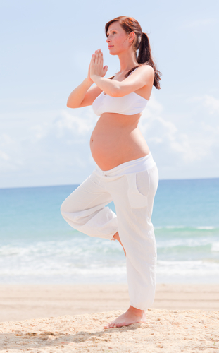 Jóga pro 1.trimestr těhotenství - otevírání kyčlí