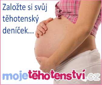 Založte si svůj těhotenský deníček na mojetehotenstvi.cz