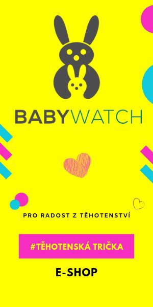 Těhotenská trička Babywatch